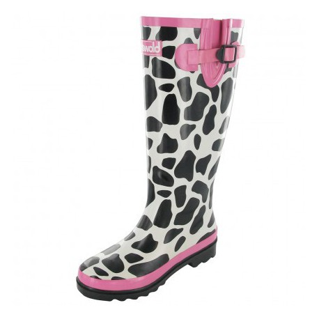 Cotswold Collection - Dames Wellington Boots - Moo Cow