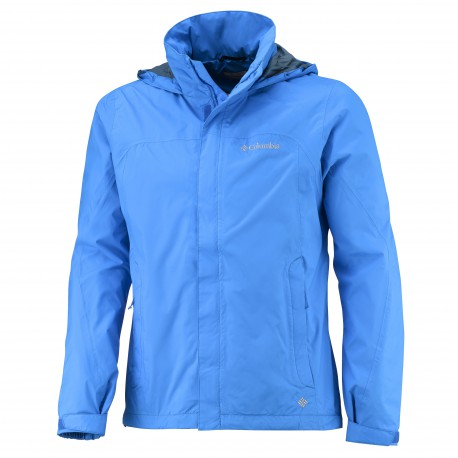 Columbia Heren Mission Air II Jacket Hyper Blue