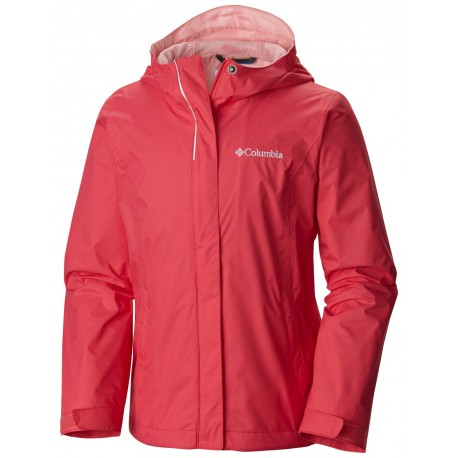 Columbia Girls Arcadia Jacket Bright Geranium