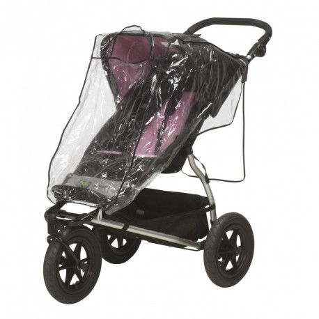 Playshoes - Regenhoes voor buggy - Transparant