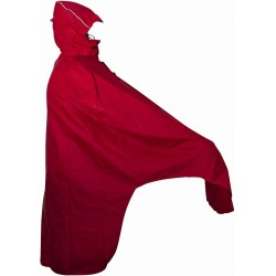 Lowland Fiets Poncho Rood